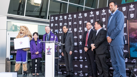 Sacramento NBA All-Star Bid Press Conference