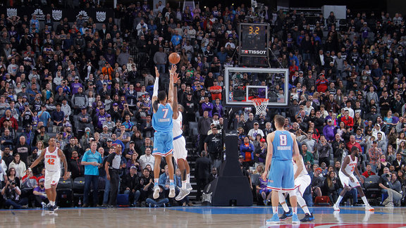Skal Labissiere Game-Winner vs Knicks | Sacramento