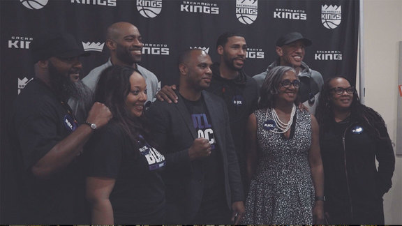 Kings Team Up With Build Black for Youth Forum
