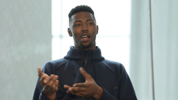 Harry Giles wanted to be a dentist?