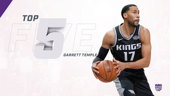 2017-18 Top 5: Garrett Temple