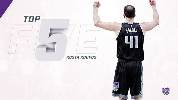 2017-18 Top 5: Kosta Koufos