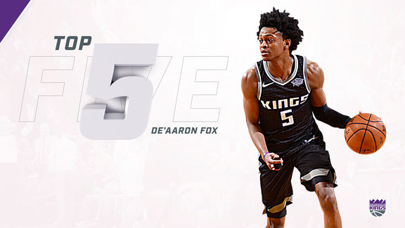 2017-18 Top 5: De'Aaron Fox