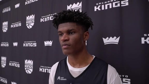 2018 Kings Pre-Draft Workout: Alize Johnson