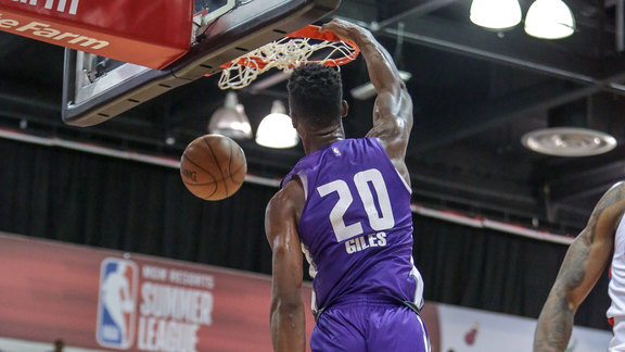 Harry Giles Opens Up with Huge Slam vs Clippers