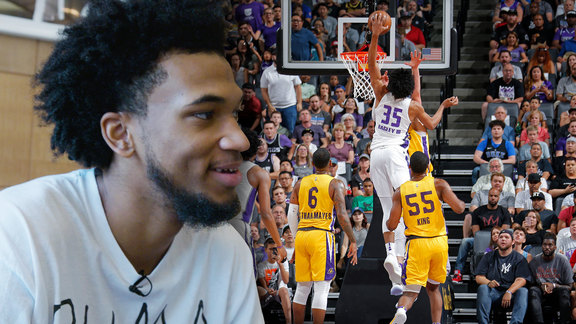 MBIII Reacts to his Big Dunk