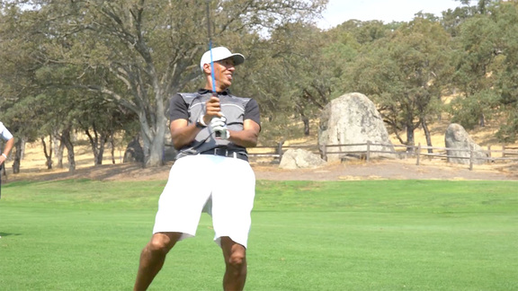 Doug Christie Hits the Links