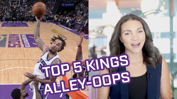 Top 5 Alley-Oops in Kings History