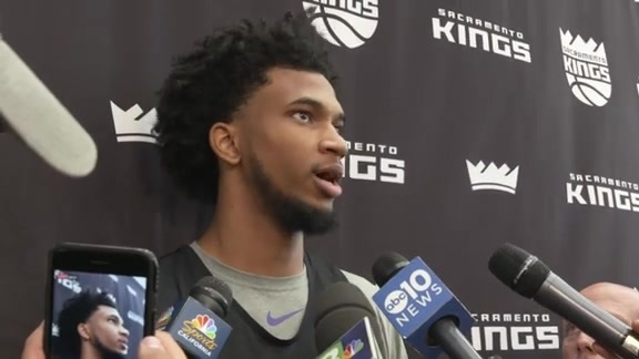 Marvin Bagley III Training Camp Interview - 9/26/18
