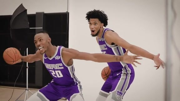 2018 Kings Media Day with Marvin Bagley III