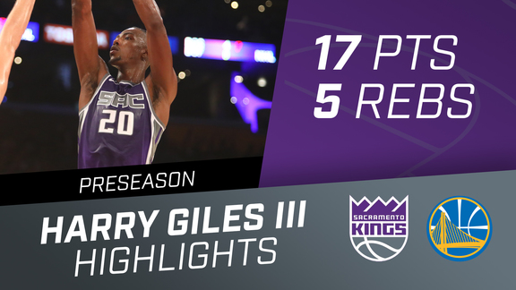 Harry Giles III (17 pts, 5 reb) vs Lakers Preseason 10.4.18