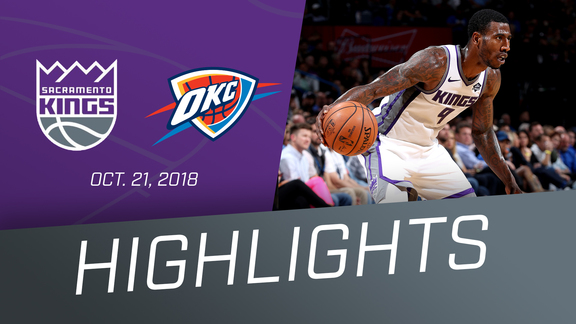 Kings at Thunder Highlights 10.21.18