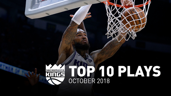 Kings Top 10 Plays - October 2018