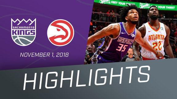 Kings vs Hawks Highlights 11.1.18