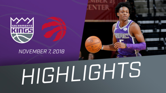 Kings vs Raptors Highlights 11.7.18