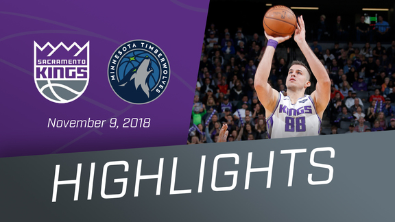Kings vs Timberwolves Highlights 11.9.18