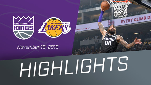 Kings vs Lakers Highlights 11.10.18
