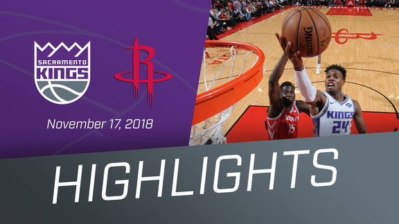 Kings vs Rockets Highlights 11.17.18