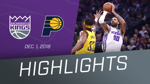Kings vs Pacers Highlights 12.1.18