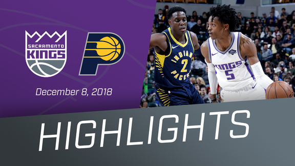Kings vs Pacers Highlights 12.8.18