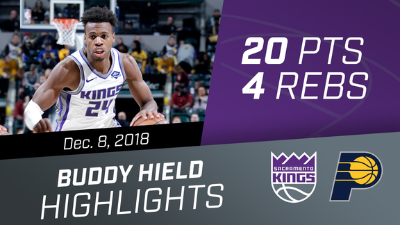 Buddy Hield (20pts & 4 asts) vs Pacers 12.8.18
