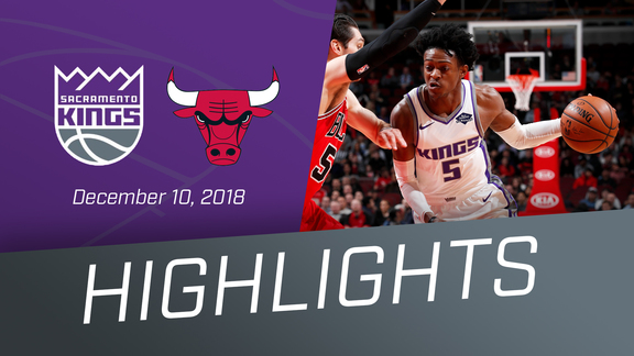 Kings vs Bulls Highlights 12.10.18