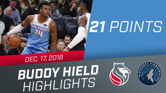 Buddy Hield (21 points) vs Timberwolves 12.17.18