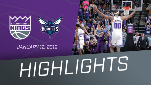 Kings vs Hornets Highlights 1.12.19