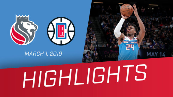Kings vs Clippers Highlights 3.1.19