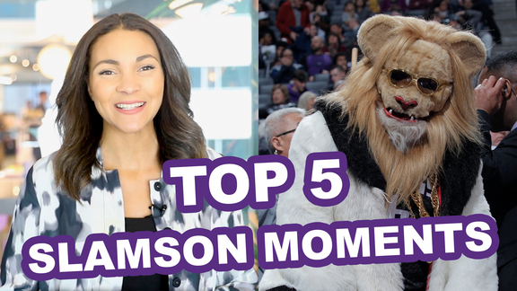 Top 5 Slamson the Lion Moments in Kings History