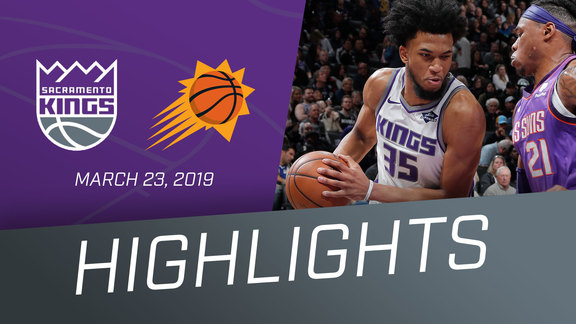 Kings vs Suns Highlights 3.23.19