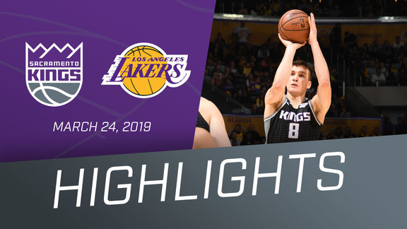 Kings vs Lakers Highlights 3.24.19