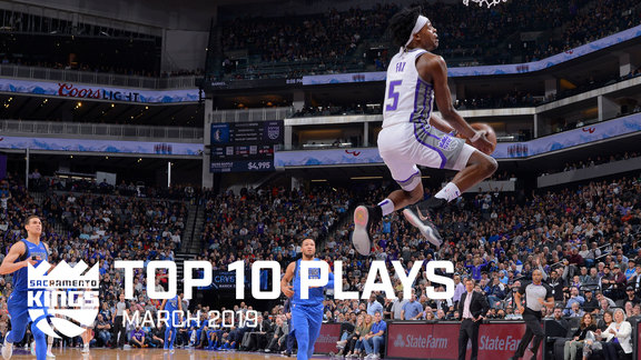Kings Top 10 Plays - March 2019