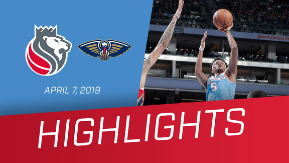 Kings vs. Pelicans Highlights 4.7.19