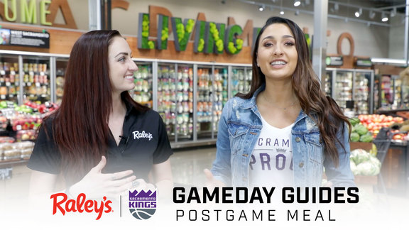 Raley's x Kings Gameday Guide: Postgame Meal