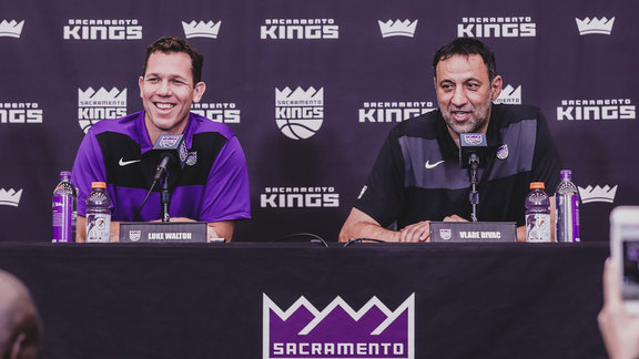 Luke Walton Introductory Press Conference