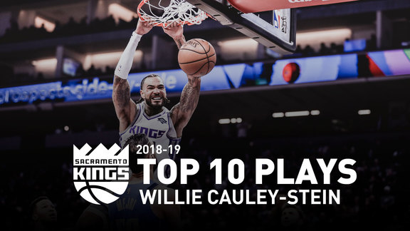 854f88515fe 2018-19 Willie Cauley-Stein Top 10 Plays