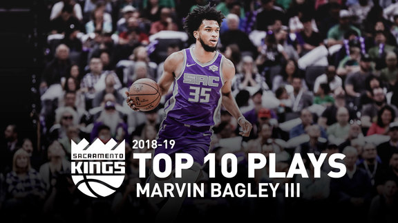 2018-19 Marvin Bagley III Top 10 Plays