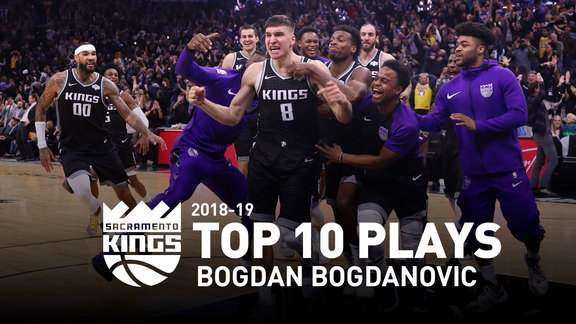 2018-19 Bogdan Bogdanovic Top 10 Plays