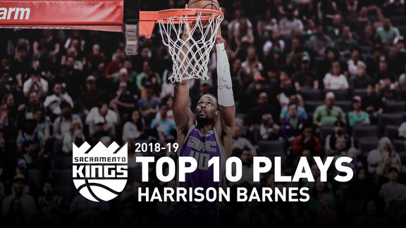 2018-19 Harrison Barnes Top 10 Plays