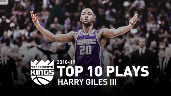 2018-19 Harry Giles III Top 10 Plays