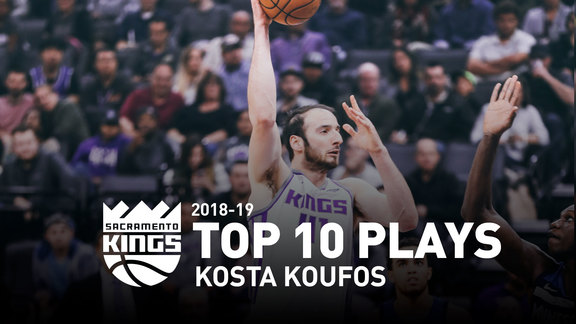 2018-19 Kosta Koufos Top 10 Plays