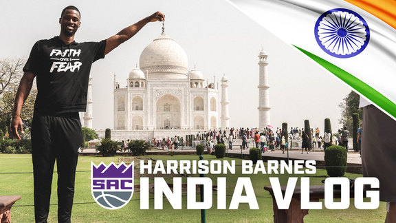 Harrison Barnes India Vlog