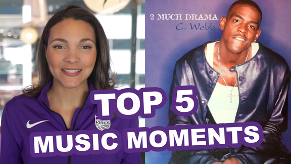 Top 5 Music Moments in Kings History