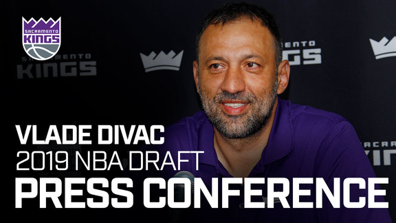Vlade Divac Post Draft Press Conference