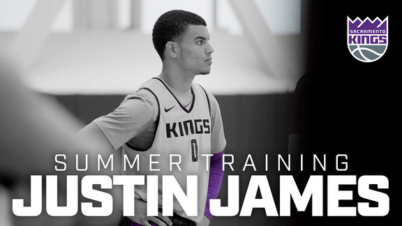 Summer Training: Justin James