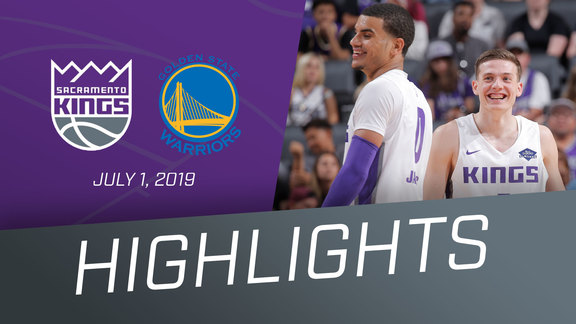 Kings vs Warriors Highlights 7.1.19