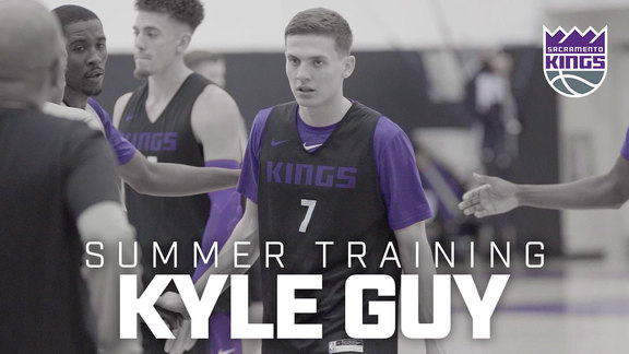 Summer Training: Kyle Guy