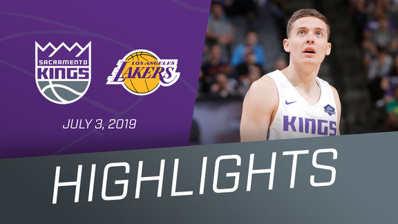 Kings vs Lakers Highlights 7.3.19