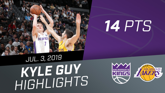 Kyle Guy (14 pts) Highlights vs Lakers 7.3.19